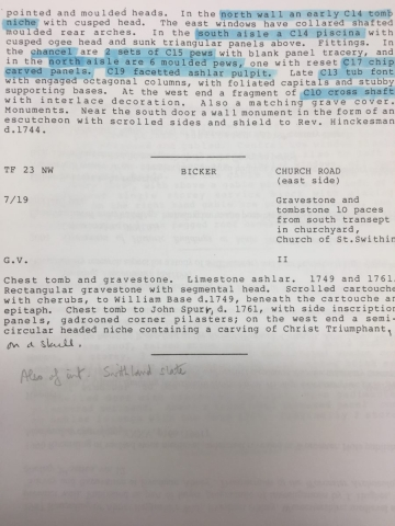HH STSW 1967 Notes on church architectural features 2