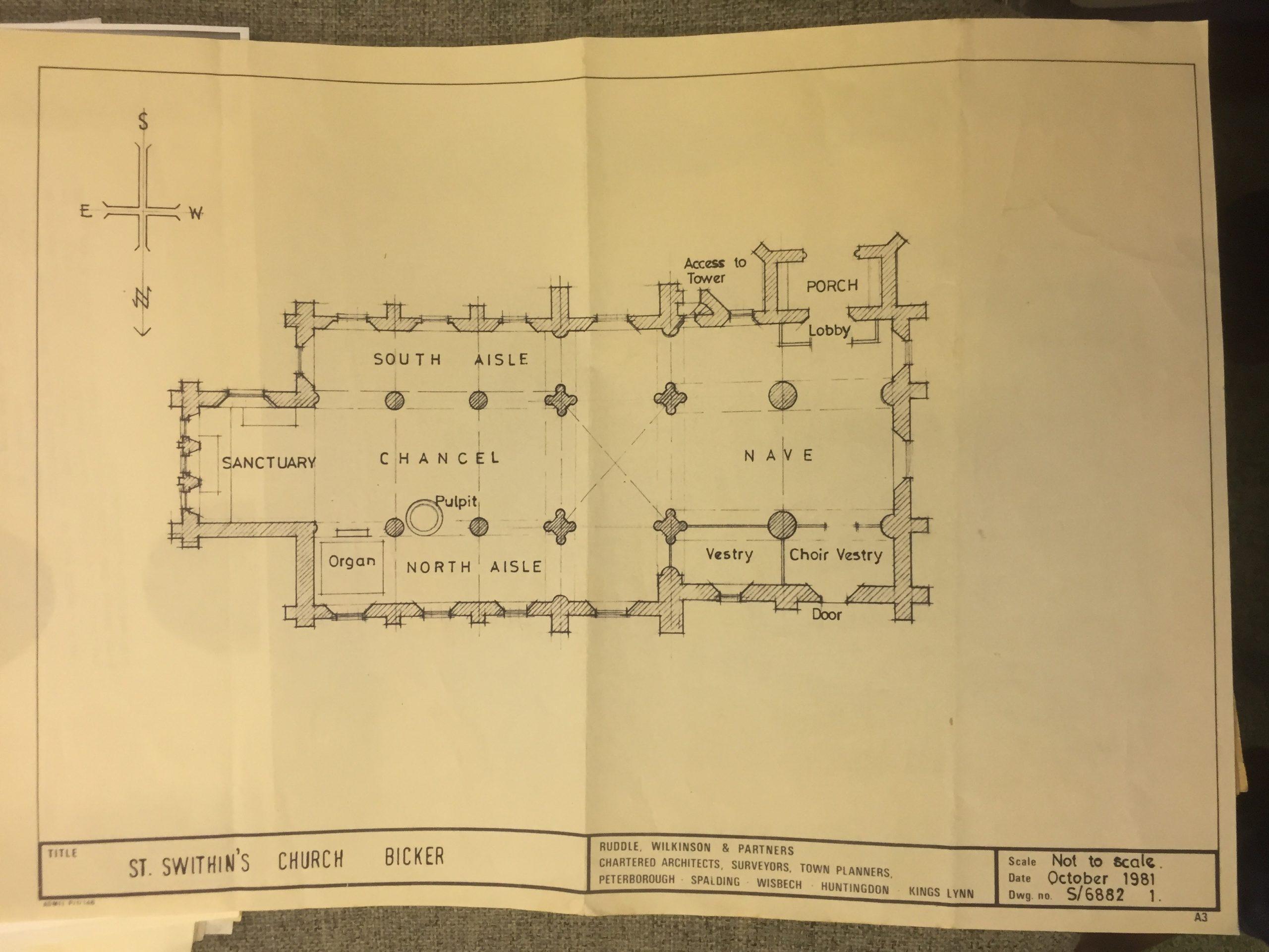 HH STSW 1981 Church plan