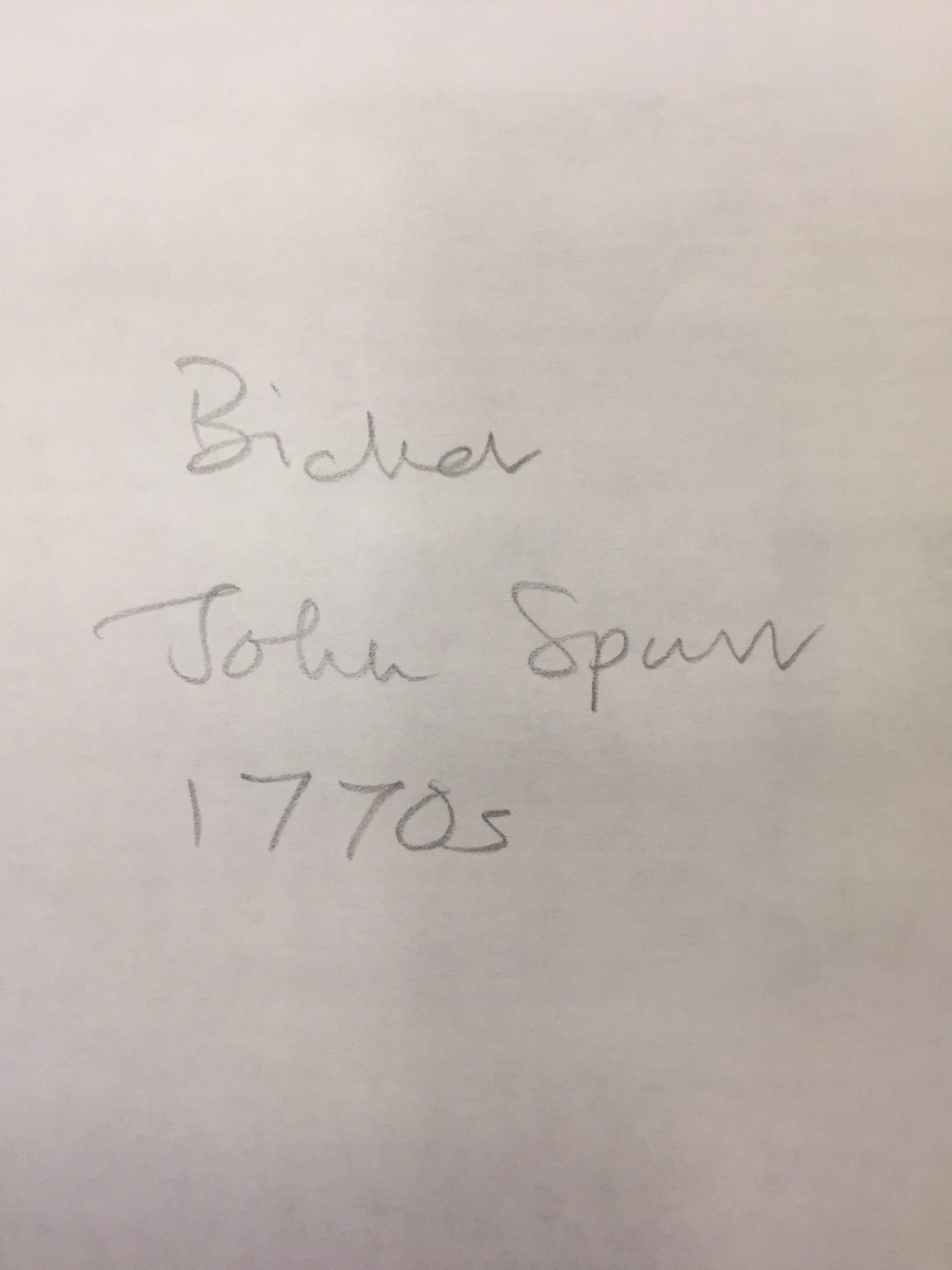 HH STSW c1770 John Spur