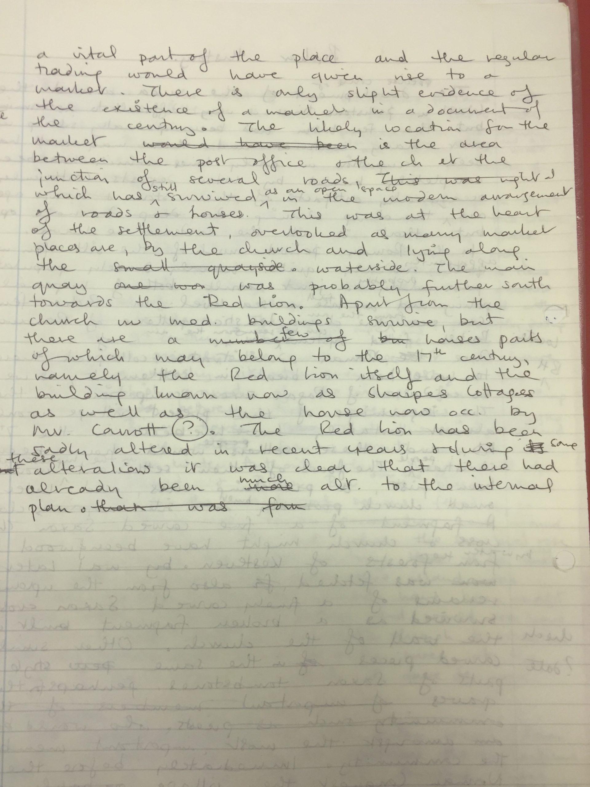 HH History handwritten 2
