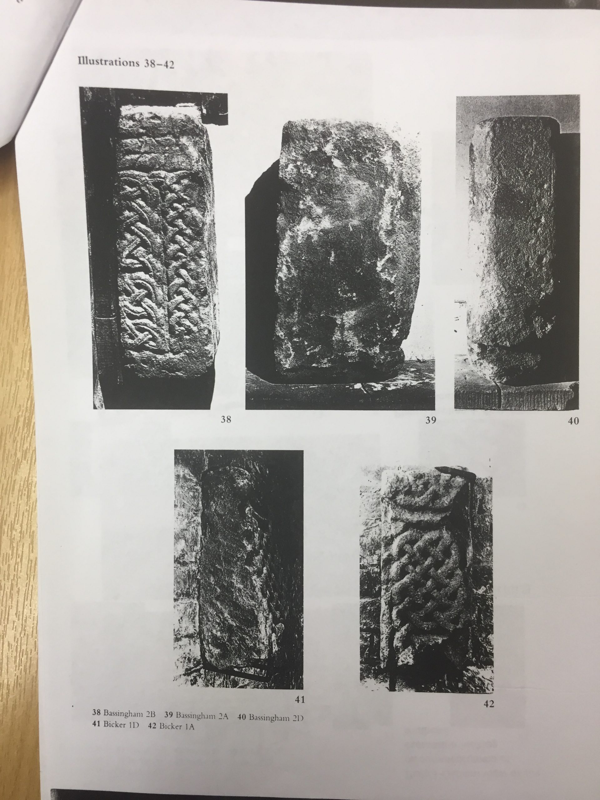 HH STSW 1991 Anglo Saxon fragments unearthed 3