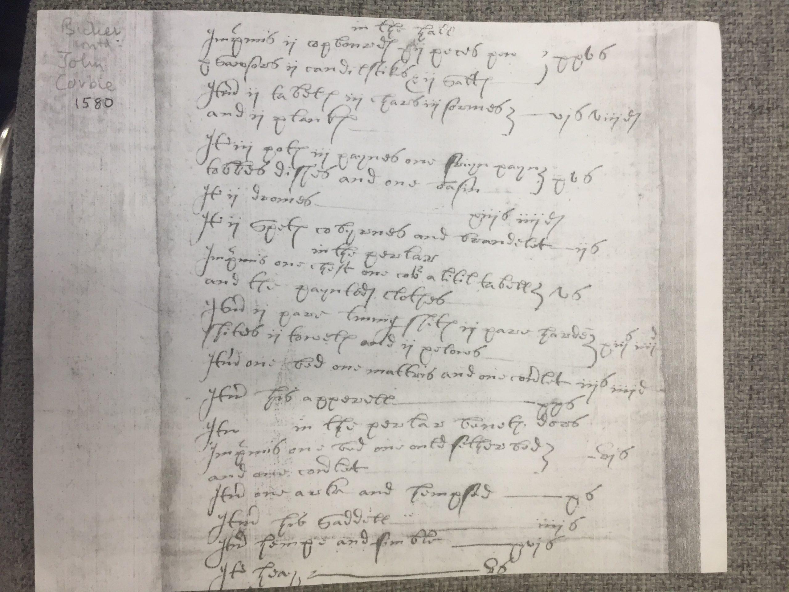 1580 Flowing script