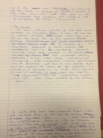 HH History handwritten 4
