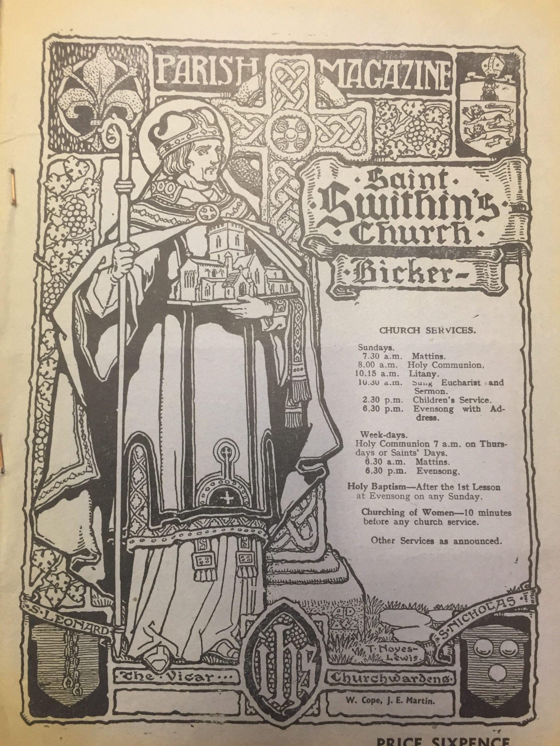 HH STSW 6d parish magazine